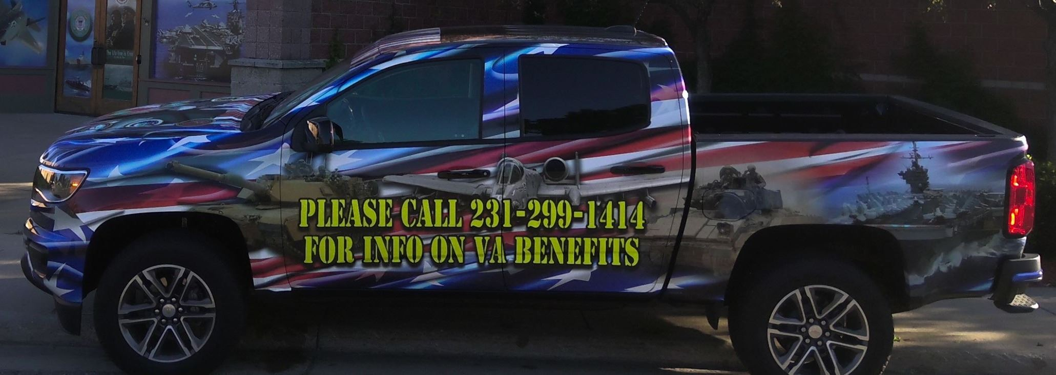 New Vehicle For Manistee Veterans Affairs