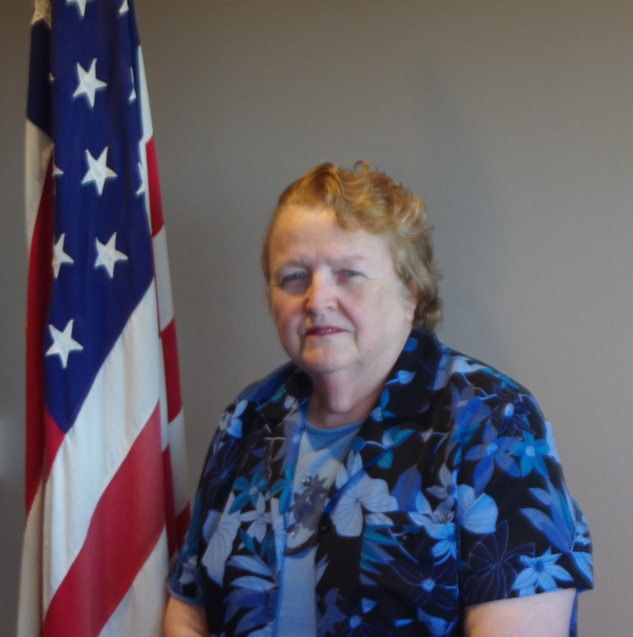 Photo of County commissioner Pauline Jaquish
